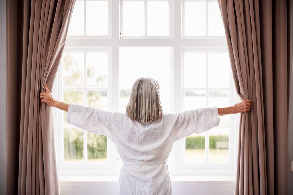 As cortinas em Salvador são as mais utilizadas em salas de estar e quartos.